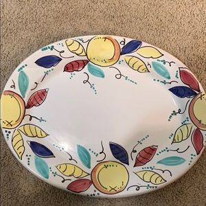 Pier One Imports Handpainted Platter